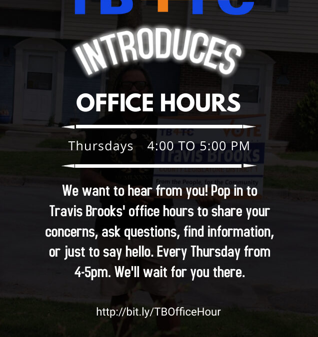 Office Hours with Travis Brooks